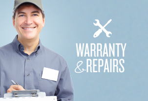 Warranty and repairs
