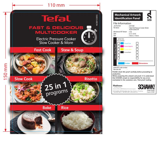 TEFAL FAST & DELICIOUS All-in-one Multicooker CY505 CY505E60