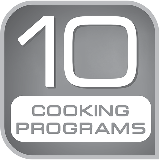 10 automoatic cooking programs