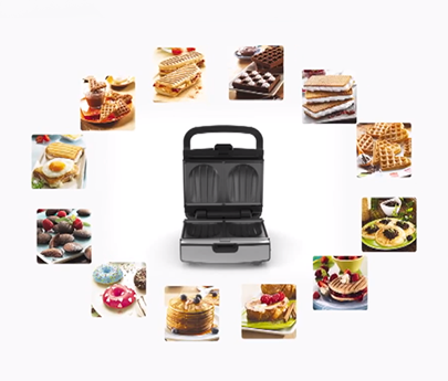 Forskellige Tefal Snack Collection Sandwich Press XC28
