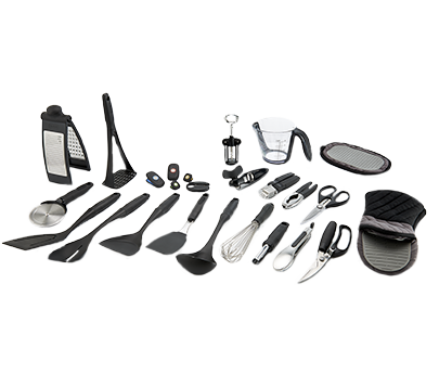 Comfort touch kitchen tools range