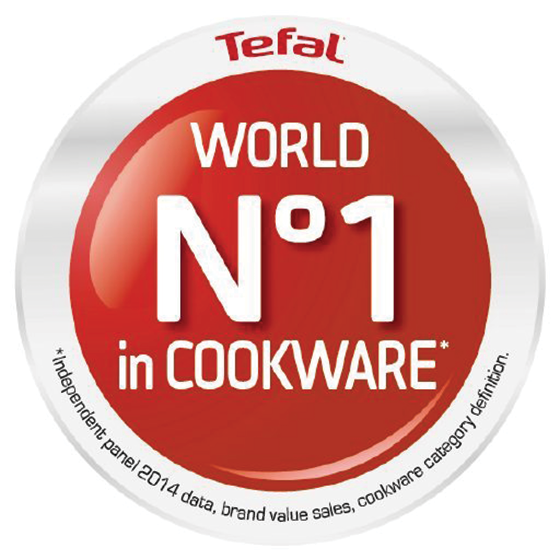 number 1 cookware badge