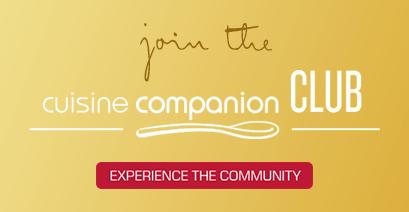 Join the cuisine companion CLUB