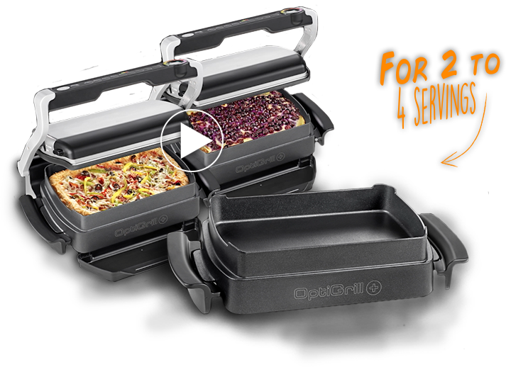 Optigrill | for2 to 4 servings