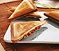 Tuna, tomato and chorizo sandwich
